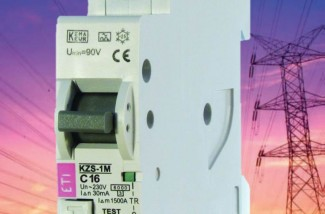 Residual current circuit breakers with overcurrent protection – 1 DIN module