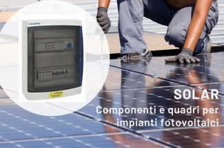 Quadri elettrici per impianti fotovoltaici